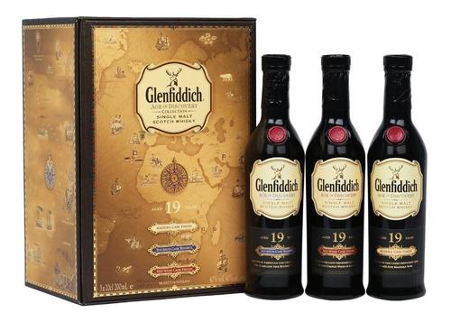Imagen 1 de 9 de  Whisky Glenfiddich 19 Años Age Of Discovery Collection Set