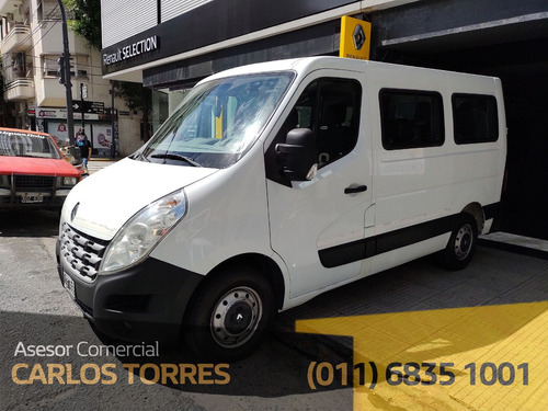 Renault Master 2.3 T4 Dci130 L1h1 Aa Furgon Corto Minibus