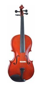 Viola Clássica De Arco Concert Vc 4/4 Natural Com Case