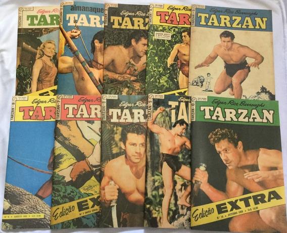 Lote Tarzan - 2º Série - 1 A 10 Em Fac-símile - Frete Grátis