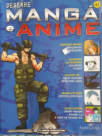 Revista Desenhe Mangá E Anime N 47