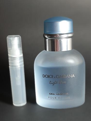 Muestra Decant 5 Ml Dolce & Gabbana Light Blue Eau Intense