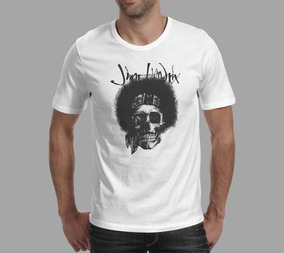 Camiseta Jimi Hendrix - Branca