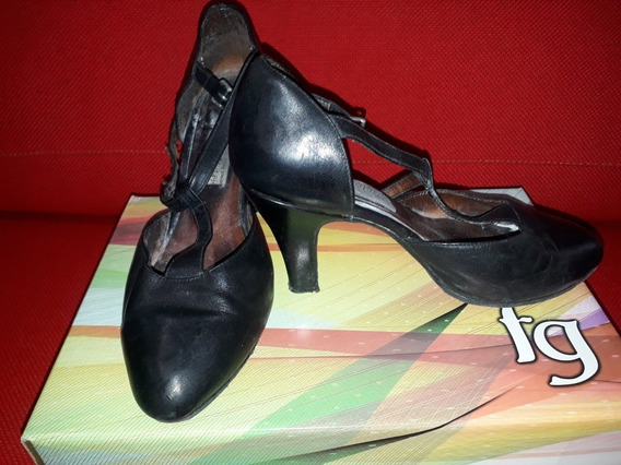 Zapatos De Tango-usados