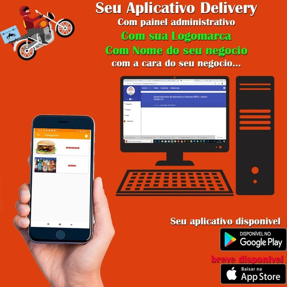 Apk ,app Para Pizzaria Aplicativo Delivery