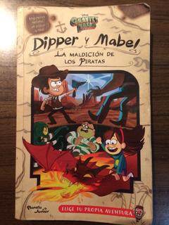 Libro Dipper Y Mabel La Maldición De Los Piratas