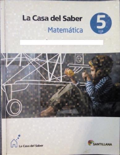 Matemática 5 Egb Santillana