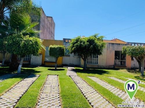 Casa En Condominio En Las Garzas I Ii Iii Y Iv / Emiliano Zapata - M2ai-254-cd