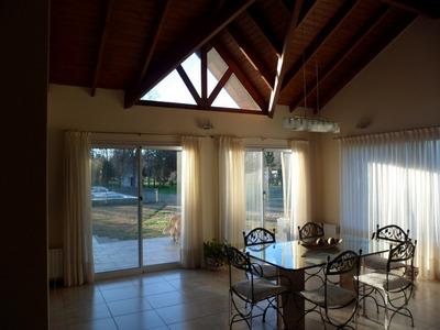 Casa 4 Dorm Con Parque Y Pileta - Parque Las Naciones