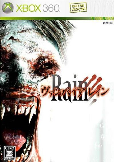 Vampire Rain Original Para Xbox 360 Jogo Lacrado + Brinde.