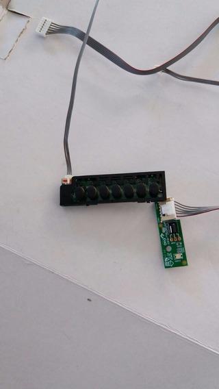 Pci Teclados E Sensor Tv Toshiba Led Dl3245(a)