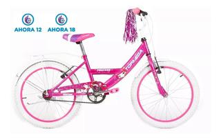 Bicicleta Topmega Rodado 20 Nena Princess +armado+accesorios