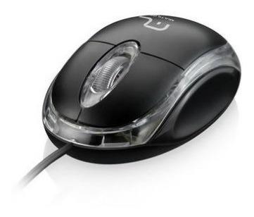 Mouse Usb Multilaser Preto