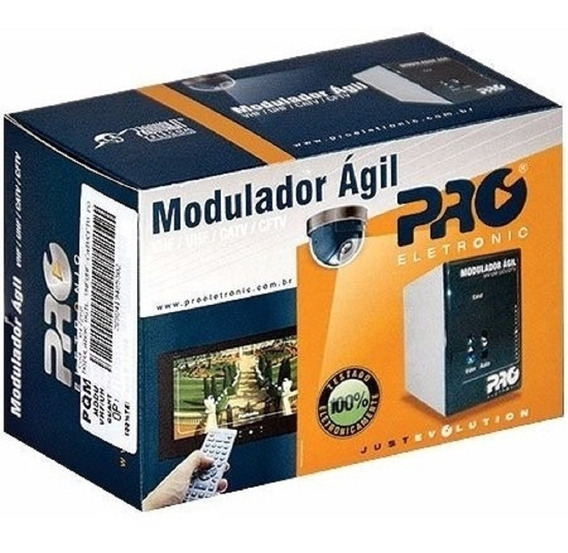 Modulador Agil Proeletronic Pqmo 2600 Catv Uhf Vhf Nfe