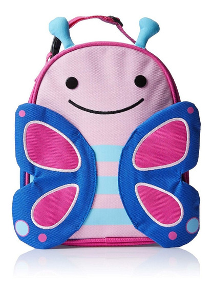 Skip Hop Butterfly - Lancheira + Snack Cup + Talher + Prato