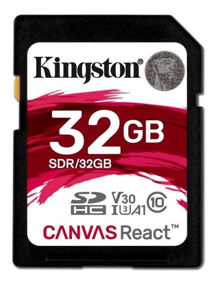 Sdr32gb - Cartão Sd De 32gb Canvas React - Leitura: 100mbs -