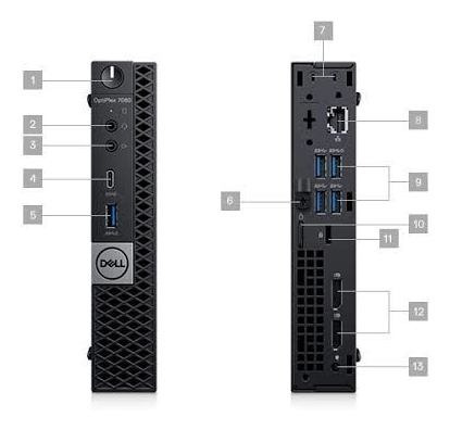 Microcomputadores Dell Optiplex 7060m I5 16gb Ram
