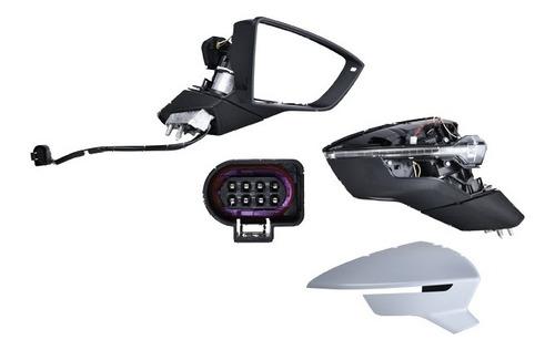 Imagen 1 de 1 de Espejo Seat Leon 2013 2014 2015 2016 Electrico E/abatible C/desempañante C/direccional P/pintar Tsi 1.4/tdi 2.0/tdi 1.6/