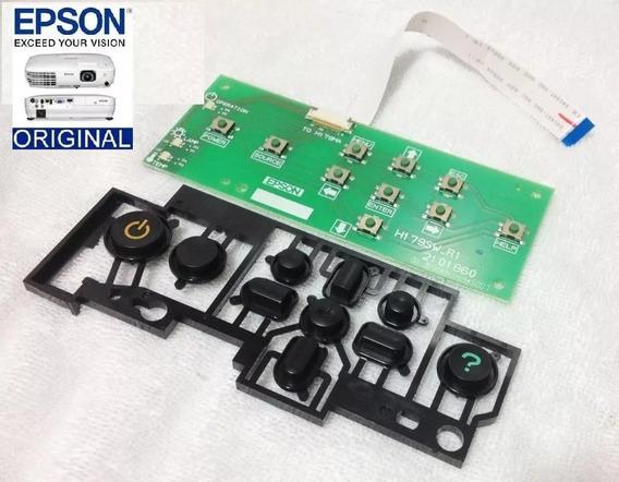 Placa Teclado Projetor Epson S5, S5+ H252