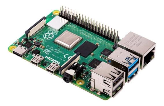 Kit Raspberry Pi 4 Pi4 Model B 4gb Fonte Case Cartão 16gb