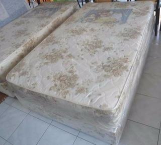 Conjunto Somier 190 X 110 De Espuma 26 Kg Densidad +sommier