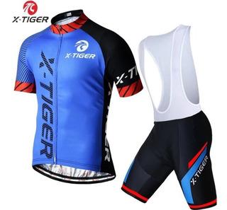 Conjunto De Ciclismo X-tiger