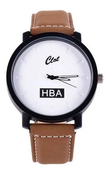 Kit 2 Relógios Luxo Pratica Esporte Hba Masculino Feminino