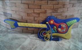 Guitarra Electrica Niño Niña Juguete Musical Y Luz Bebe