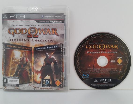 God Of War Origins Collection Ps3 Midia Fisica Seminovo