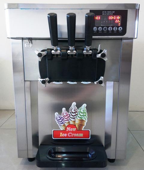 Maquina De Helados Soft De 28 Litros/hora