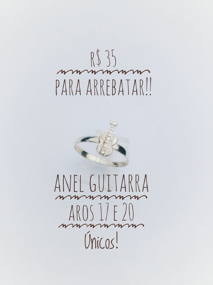 Anel Guitarra