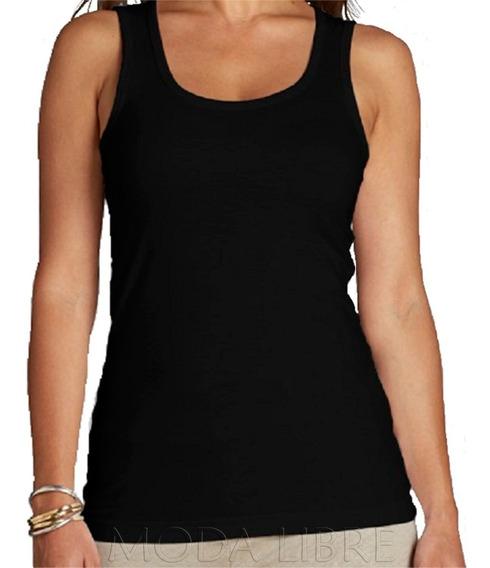 Musculosa Lisa - Algodón Peinado20/1 - Verano - Mujer - Excelente Acabado!!! - Moda Libre 1 - Talle Especial * 3x - 6x *