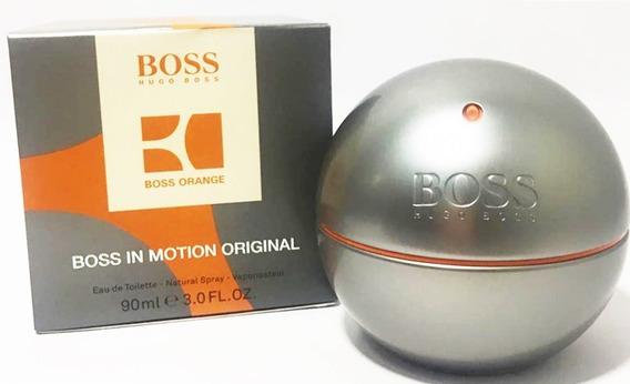 Perfume Masculino Hugo Boss In Motion 90ml - 100% Original