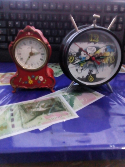Relojes De Buro De Cuerda Vitange