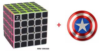 1 Cubo Rubick 5x5x5 Z + 1 Fidget Spinner Capitan America W03