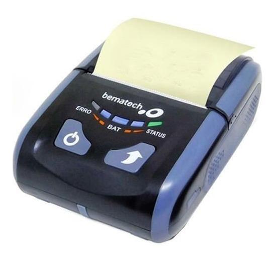 Impressora De Cupom Portátil Bematech Pp 10 - Usb/bluetooth
