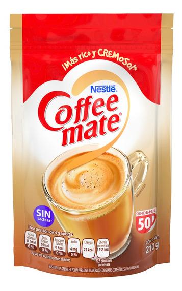Leche Coffee Mate 210gr Bolsa (1 Pieza)