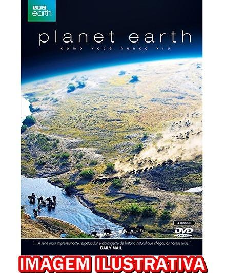 Bbc Planeta Terra A Série Completa Dublado E Legendado 4 Dvd