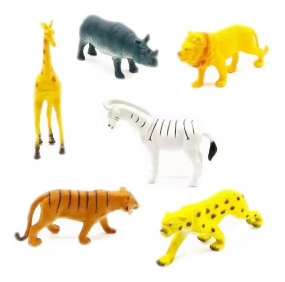 Animal Borracha Africa Leão Zebra Tigre Girafa Safari Escola