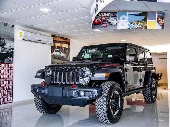 Jeep Rubicon Black Wheels