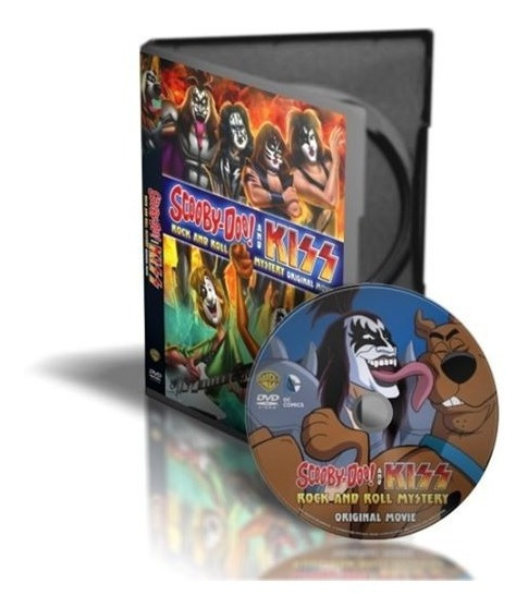 Scooby Doo E Kiss And Rock