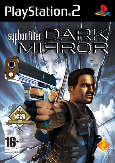 Jogo Syphon Filter Dark Mirror Ps2 Original