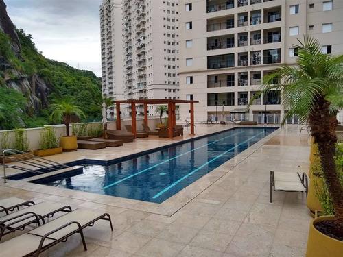 Imagem 1 de 30 de Apartamento 2 Dormitorio 1 Suite Em Santos - Pas201