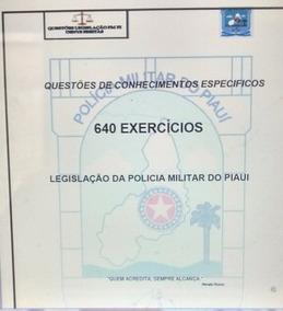 Apostila 640 Questões Exclusivas Da Policia Militar Do Piaui