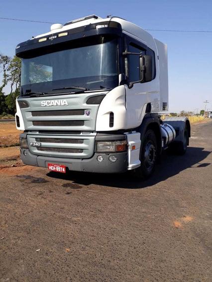Scania P340 10/10 Excelente Estado E Trabalhando Oportun.