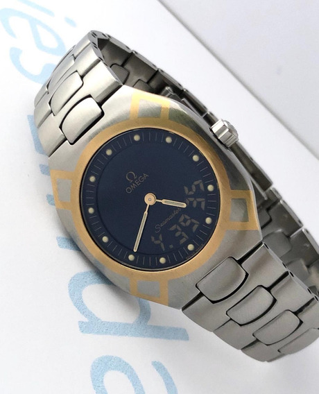 Reloj Omega Polaris Análogo-digital Acero-oro