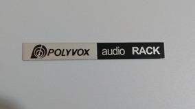 Placa Auto Adesiva Do Rack Polivox