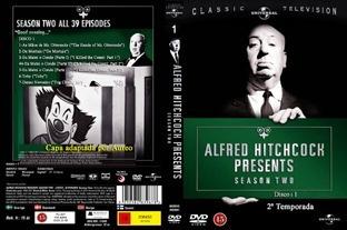 Alfred Hitchcock Presents 1ª,2ª E3ª Temp.digital+3 Dvds Grát
