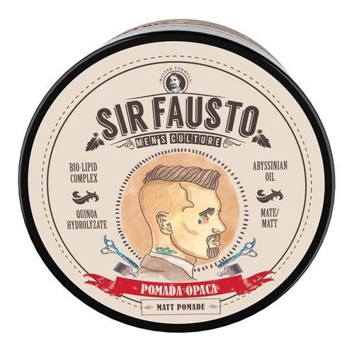 Imagen 1 de 1 de Cera Pomada Opaca Mate Sir Fausto X 200 Ml Barber