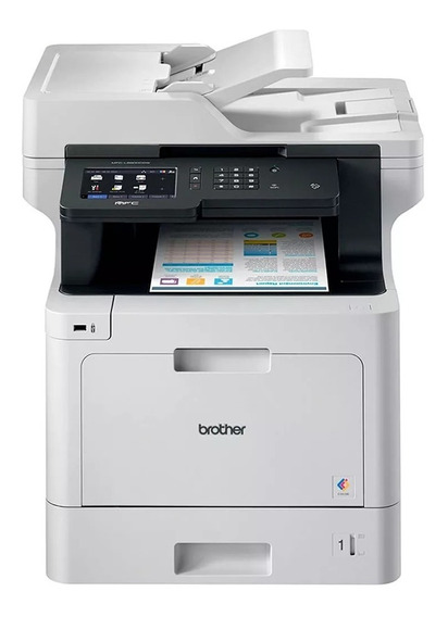 Impressora Multifuncional Laser Colorida - Brother Mfc L8900